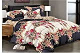 Reliable Trends PolyCotton Queen Size AC Comforter Set Duvet with Bedsheet and Pillow