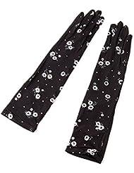 Guantes de seda de hielo fino Conducción de guantes de protección solar Verano Sección delgada Guantes de protección solar ( Color : 1 )