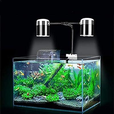 La lumière d'aquarium de LED, lumière de réservoir de Poissons d'eau Douce d'eau de mer for Le Corail, réservoir Nano planté d'aquarium 20W 40W 60W 100W Lampes de réservoir de Poisson