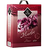 Le Vin Merlot Frankreich IGP 1er Pack (1 x 3 l)