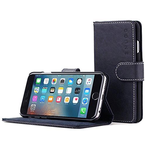 Snugg Cover iPhone 6 Plus e 6S Plus, Apple iPhone 6 Plus e 6S Plus Flip Custodia Case [Slot Per Schede] Pelle Portafoglio Progettazione Esecutiva [Garantita a Vita] - Blue mare, Legacy Range