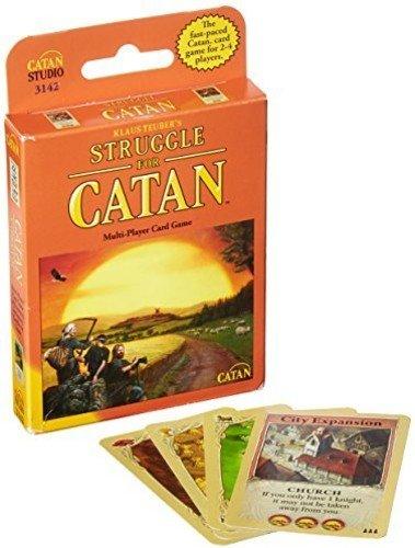 Spiel The Struggle for Catan, evtl. Nicht in Deutscher Sprache