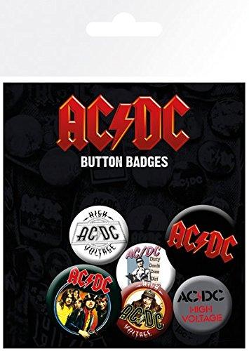 Sconosciuto GB Eye, AC/DC, Mix, Button-Set,