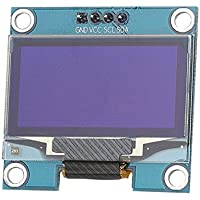 """HiLetgo 1.3"""" SSH1106 IIC I2C OLED LCD Display 128x64 OLED Display Module for Arduino AVR PIC STM32 51 Raspberry Pi"""