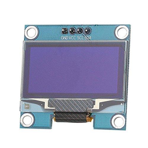 """HiLetgo 1.3\"""" SSH1106 IIC I2C OLED LCD Display 128x64 OLED Display Module for Arduino AVR PIC STM32 51 Raspberry Pi"""