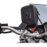 UltimateAddons Support de moto M6M8M10Support à pince avec SAT NAV GPS Étui résistant à l'eau