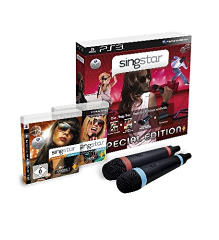 SingStar Special Edition inkl. 2 Wireless Mikrofone