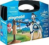 Playmobil- Maletín de Entrenamiento para Caballero Juguete, (geobra...
