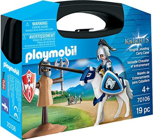 Playmobil Valisette Chevalier et Entrainement, 70106