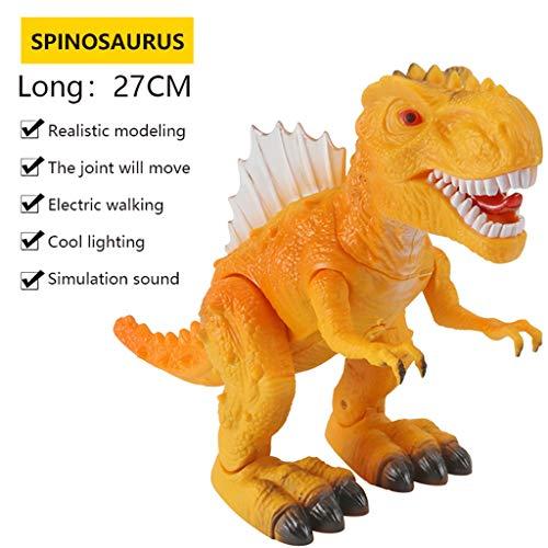 Mitlfuny Auto-Modell Plüsch Bildung Squishy Spielzeug aufblasbares Spielzeug im Freien Spielzeug,Kinder elektrischer Dinosaurier spielt Lumineszenzton-Simulations-Tierplastikspielzeug - Gun Schmuck Munition