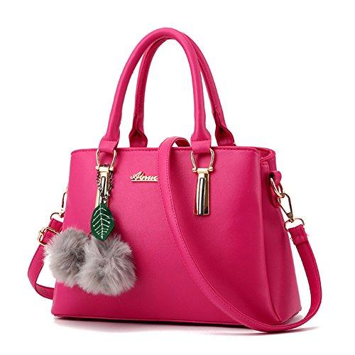 ZiXing Modetrend Handtaschen Schulter diagonal Tasche beiläufige Handtaschen Frauen Handtasche Rose