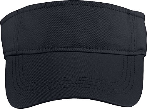 Amboss Unisex Low Profile Twill Visor/Multifunktionstuch Gr. One Size, rot -