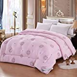 Xianw Luxus Daunendecke, Hypoallergen Daunenfüllung, 100% Baumwolle - King,B,220X240cm(87X94inch)
