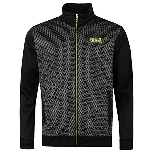 everlast-hombre-classic-chaqueta-de-entrenamiento-de-cuello-deportivo-correr-full-zip-top-negro-amar