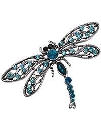 66bee697babf Allisonia Broche de libélula para Disfraz