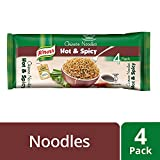 Knorr Chinese Hot and Spicy Noodles, 68g (Pack of 4)