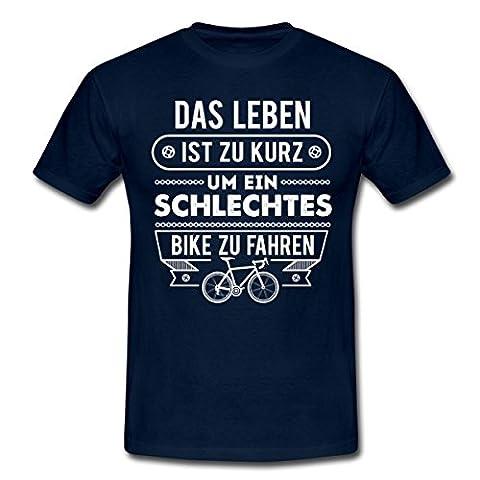 Gutes Fahrrad Biker Spruch Männer T-Shirt von Spreadshirt®, L,