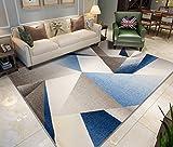 SESO UK-CAR Moderne Shaggy Carpet Weichen Bequemen Fine Rutschfeste Große Fläche Teppich für Wohn- & Schlafzimmer Decor Dicke -1,2 cm (Farbe : Carpet-C, Größe : 160x230cm)