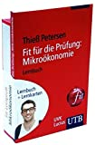 Fit-Lernprofi Mikroökonomie: Lernbuch mit Lernkarten (UTB LK) by Thie� Petersen (2013-07-17)