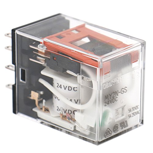 Heschen Allzweck-Relais MY2N-GS (MY2NJ), 24VDC, LED-Anzeige, DPDT, 5A, 30VDC/250VAC -