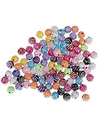 Harz Rosen Perlen Verzierung Basteln Gemischte Farben Mulity Stil Neu Hochwertig