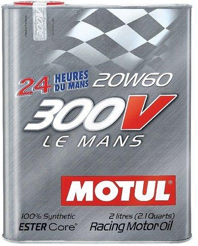 MOTUL 300V LE MANS 20W60 RACING MOTOR OIL 2 LT.