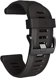 Soft Silicone Replacement Sport Wirst Watchband Strap For Garmin Fenix 3 HR