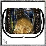 Verliebt in eine Hexe - Katze mit Zauberbuch Messenger Tasche Multicolours - Fantasy - Nemesis Now