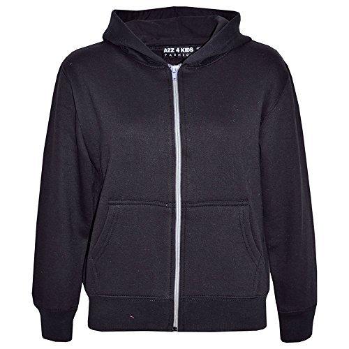 a2z-4-kidsr-kids-girls-boys-unisex-plain-fleece-hoodie-zip-up-style-zipper-age-5-6-7-8-9-10-11-121-3