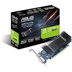 ASUS GeForce® Carte graphique GT 1030 2 Go GDDR5 à profil bas pour une construction HTPC silencieuse (avec supports de port d'E / S)