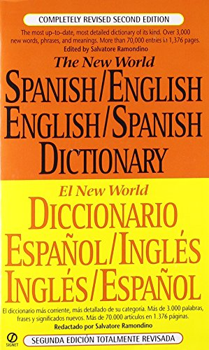 The New World Spanish/English,English/Spanish Dictionary: Second Edition