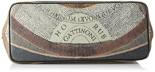 Gattinoni Gplb016, Borsa a Mano Donna, 14 x 27 x 33 cm (W x H x L) Verde (Balsam)