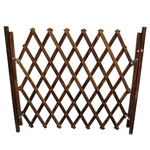 Barlingrock 2019 Heißverkauf kleine Haustier Holz Zaun Isolation Tür Wache Teleskop Sicherheit Schiene Barriere