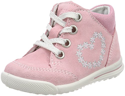Superfit Baby Mädchen Avrile Mini Sneaker, Pink (Rosa Kombi), 22 EU