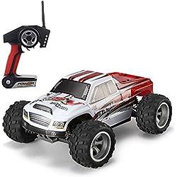Gizmovine WLtoys A979-B 1:18 RC Coche Teledirigido 2.4G 4WD Alta velocidad Todoterreno RC Buggy de Carrera El¨¦ctrico Monster Truck 43mph