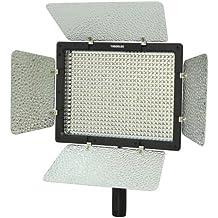 Yongnuo YN600 - Foco LED para estudio, compatible con cámaras reflex digitales Canon/Nikon/Sony, 5500K + IR, incluye control remoto con sistema de infrarrojos