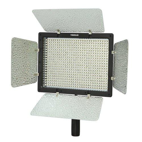 Yongnuo YN-600 LED Luce Video per Videocamera Camcorder lampada luminosa eccellente 4680LM per DSLR Videocamera YN600