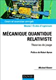 Mécanique Quantique Relativiste - Théories de Jauge
