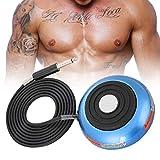 Macchina per tatuaggio a pedale con macchina da tatuaggio a 5 colori - fodera per labbra con sopracciglia, controllo per macchinette per tatuaggi - shader per body art, shader per body art(Blu)