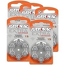 Rayovac pilas de pilas 13extra Advanced 1,45V 310mAh, 5x 6Pack de ahorro