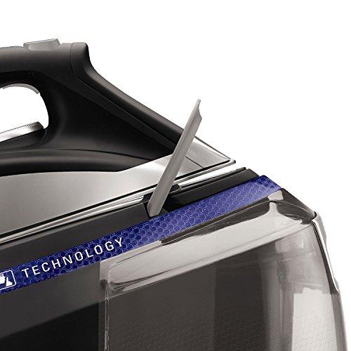 Rowenta Silence Steam Extreme DG8962F0 Centro de planchado de autonomía ilimitada de 7,3 bares, golpe de vapor 450 g/min y vapor contínuo 120 g/min, suela Microsteam Laser 400, función Eco y depósito