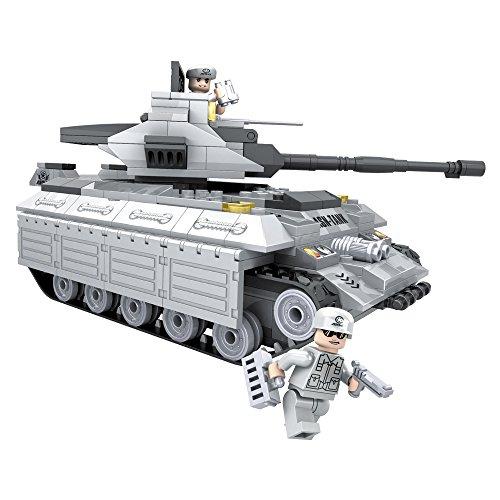 Ausini Juego de construcción Tanque militar - 299 piezas (ColorBaby 42836)