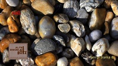 Zierkies Flusskiesel Bunt 32 - 50 mm a 25 kg von Scherf auf Du und dein Garten
