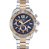 Guess Collection Men's 45mm Chronograph Mineral Glass Quartz Date Watch Y02002G7