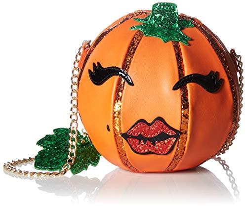 Betsey Johnson Damen Crossbody Oh My Gourd, Umhängetasche, Orange, Einheitsgröße