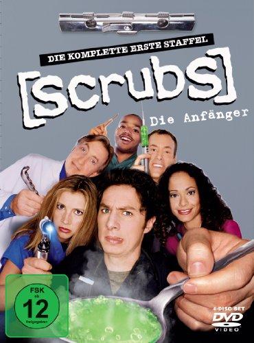 Touchstone Scrubs: Die Anfänger - Die komplette erste Staffel [4 DVDs]