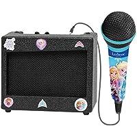 Disney Frozen - Altavoz para Karaoke/Amplificador Portátil con Micrófono (Lexibook K900FZ)
