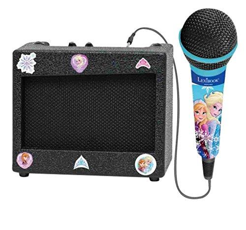 LEXIBOOK   Ampli Portable et Micro La Reine des Neiges