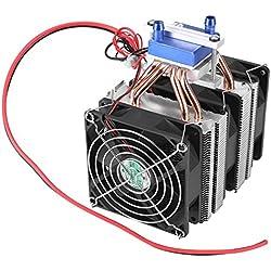 180 W Refroidisseur Thermoélectrique Semi-conducteur pour Radiateur de Réfrigération Ventilateur Refroidisseur d'eau Appareil de Refroidissement pour Aquarium Convient pour Aquariums de 40L
