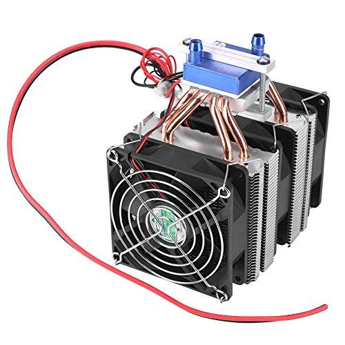 Thermoelektrischer Kühler Halbleiter Kühlung Semiconductor Refrigeration Lüfter Wasserkühler Kühlgerät für Aquarium(15A (180W))